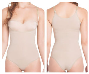 TF932P Light Compression Panty Style Braless Shaper Color Nude