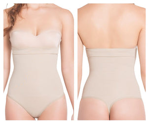 TF934T Light Compression Thong Style Reducer Color Nude