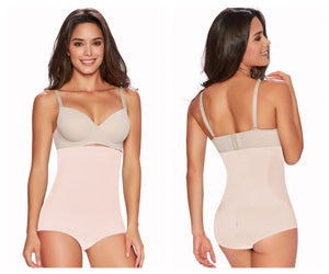 1232 Firm Control Hi-Waist Cincher Color Beige