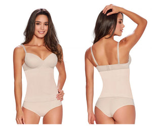1283 Firm Control Seamless Waist Nipper Color Beige