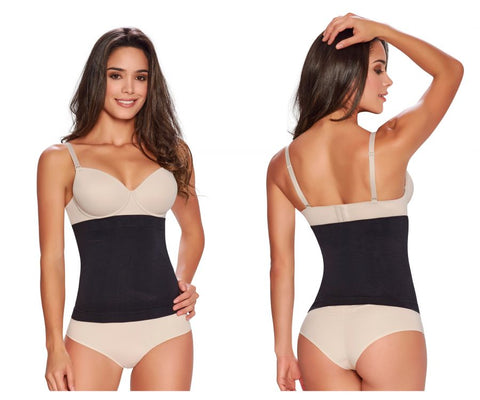 1283 Firm Control Seamless Waist Nipper Color Black
