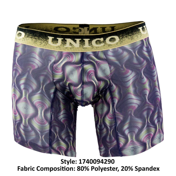 1740094290 Boxer Briefs Wine Color Multi-colored