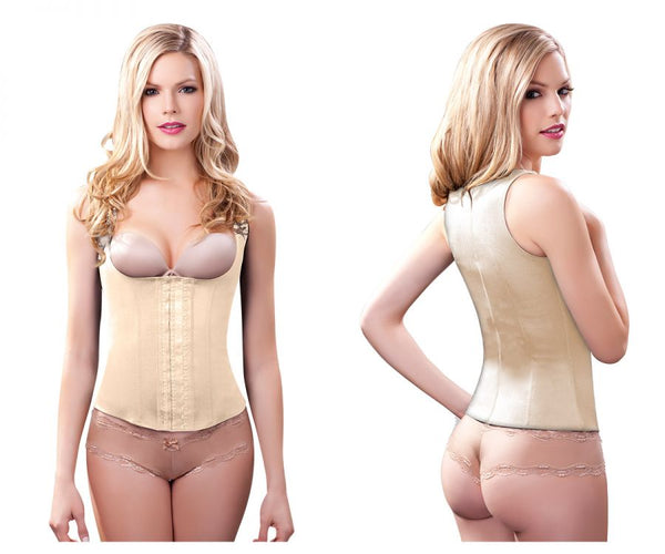 100A Rebecca Under Bust Waist Cincher Color Nude