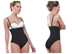 905 Anastasia Strapless Waist Nipper Color Black