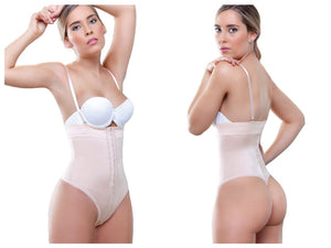 906 Julie Strapless Thong Shapewear Color Nude