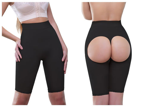 911 Amie High Waist Panty Buttock Enhancer  Color Black