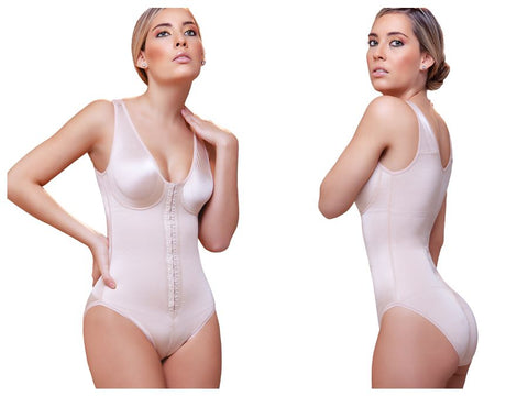 927 Florence Front Closure Control Garment Color Nude