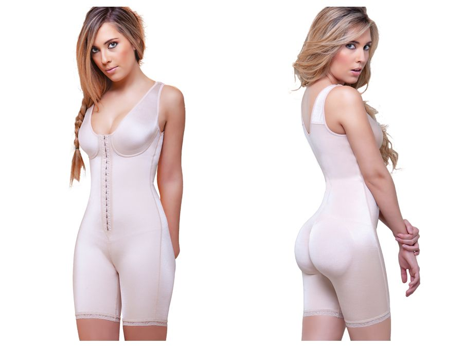 929 Celeste Front Closure Compression Garment Color Nude