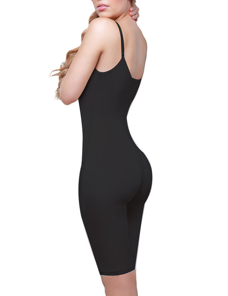 931 Rubie Above the Knee Leg Full Body Shaper Color Black