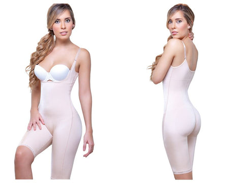 931 Rubie Above the Knee Leg Full Body Shaper Color Nude