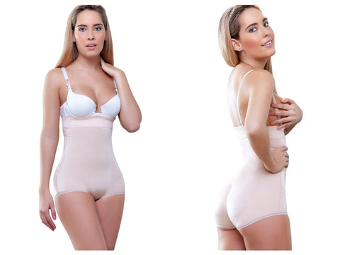 935 Gina Strapless Hip Hugger Shapewear Color Nude