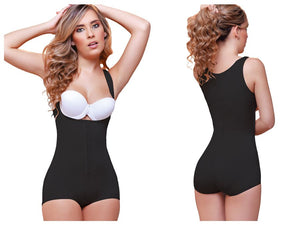 936 Ariana High Back Wide Strap Shapewear Color Black