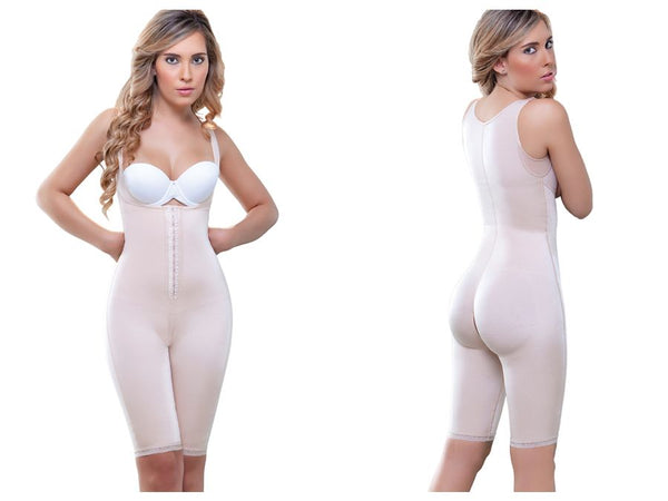 938 Full Body Control Suit w/ High Back Color Nude