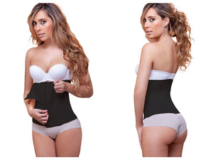 939 Joy Double Layer Waist Cincher w/ Zipper Color Black