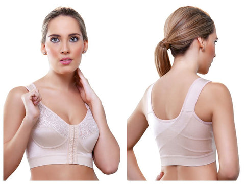 943 Cristie Front Close Soft Cup Bra Color Nude