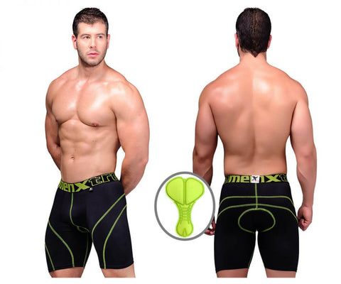 51371 Cycling Padded Boxer Briefs Color Black