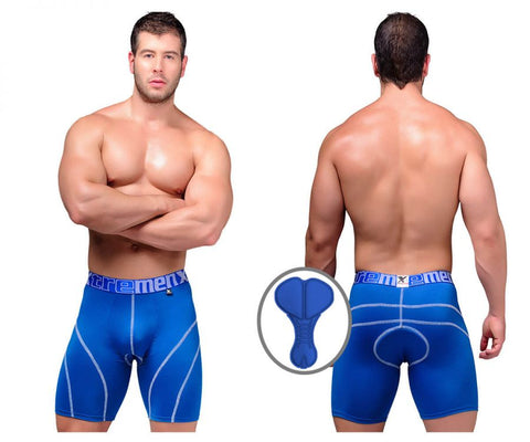 51371 Cycling Padded Boxer Briefs Color Blue