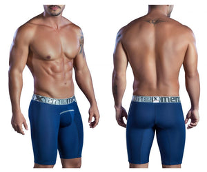 51403 Sports Microfiber Boxer Briefs Color Blue