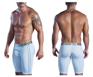 51403 Sports Microfiber Boxer Briefs Color White