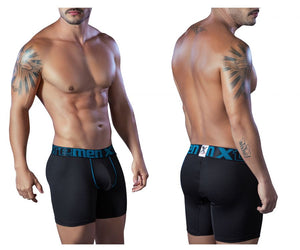 51407 Microfiber Breathable Boxer Briefs Color Black