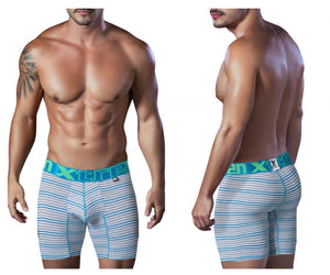 51411 Sport Performance Breathable Boxer Briefs Color Turquoise