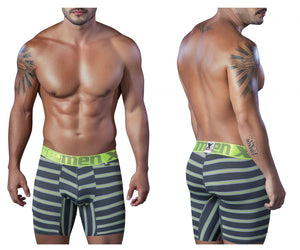51412 Sport Performance Breathable Boxer Briefs Color Gray