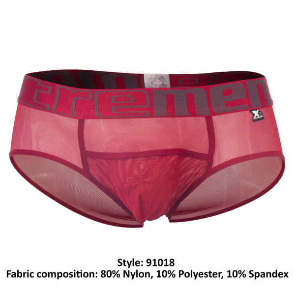 91018 Briefs Color Red