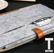 Dark Grey Felt Macbook Sleeve