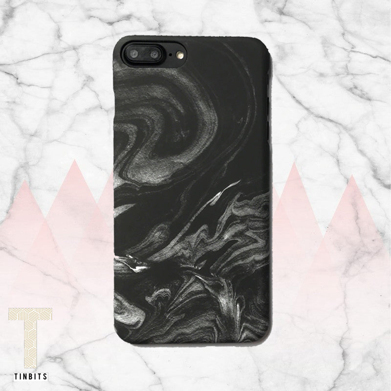 Grey Swirl Iphone Case