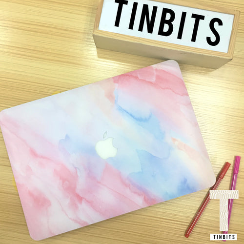 Pink Marble Macbook Case