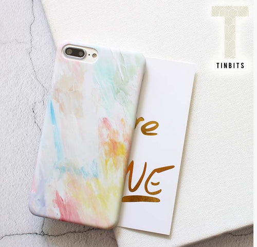 Rainbow Watercolour iPhone Case