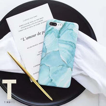 Turquoise Marble iPhone Case