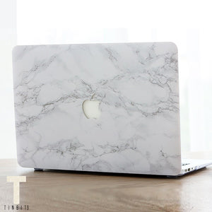 Classic White Marble Macbook Case
