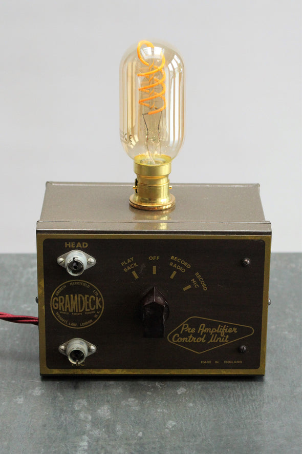 1959 Gramdeck Preamp Desk Light