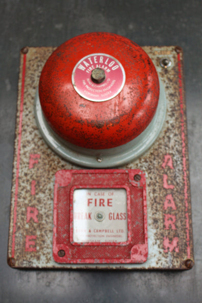 Vintage 'Waterloo' Fire Alarm Bell