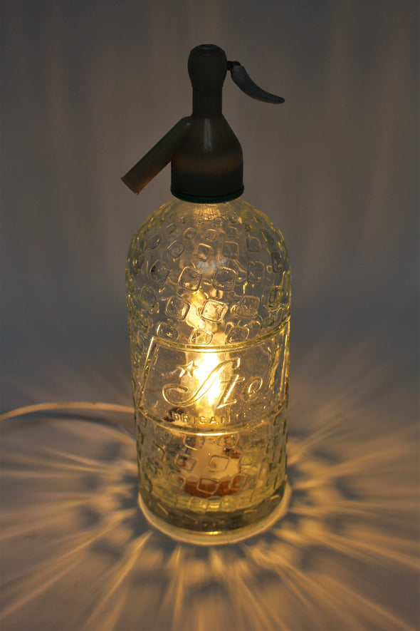Vintage Soda Siphon Desk Light