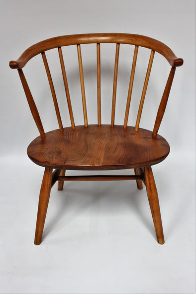 Lovely Original Vintage Ercol Cowhorn Windsor Chair
