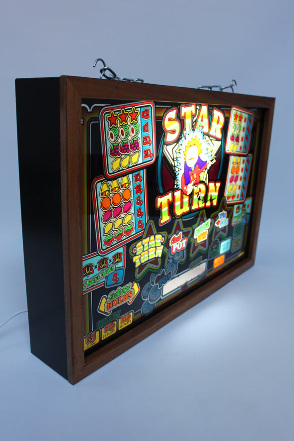 Lightbox Artwork from Star Turn Fruit Machine