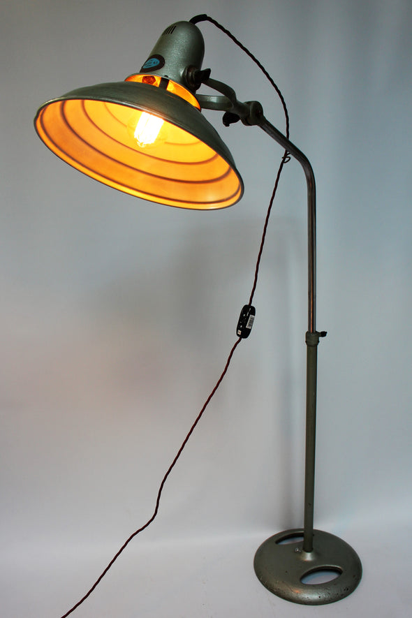 Vintage Hanovia Sollux Medical Floor Lamp