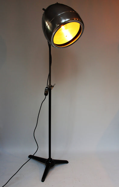 1959 Vintage Salon Hair Dryer converted to Floor Lamp