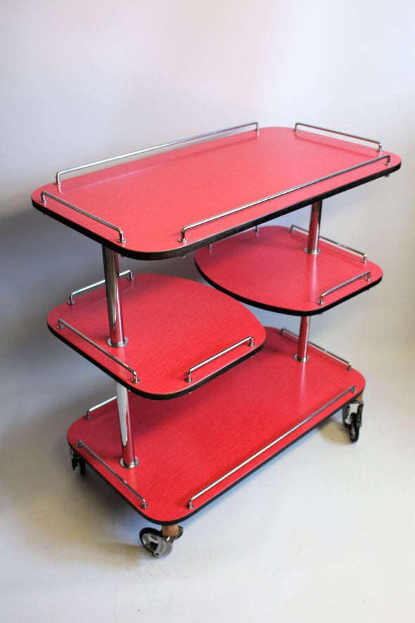 Super Retro Vintage Mid Century Hostess Drinks Trolley
