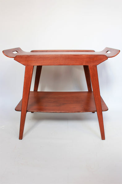 Beautiful Remploy 1950s Teak Tray Table Mid Century Modern