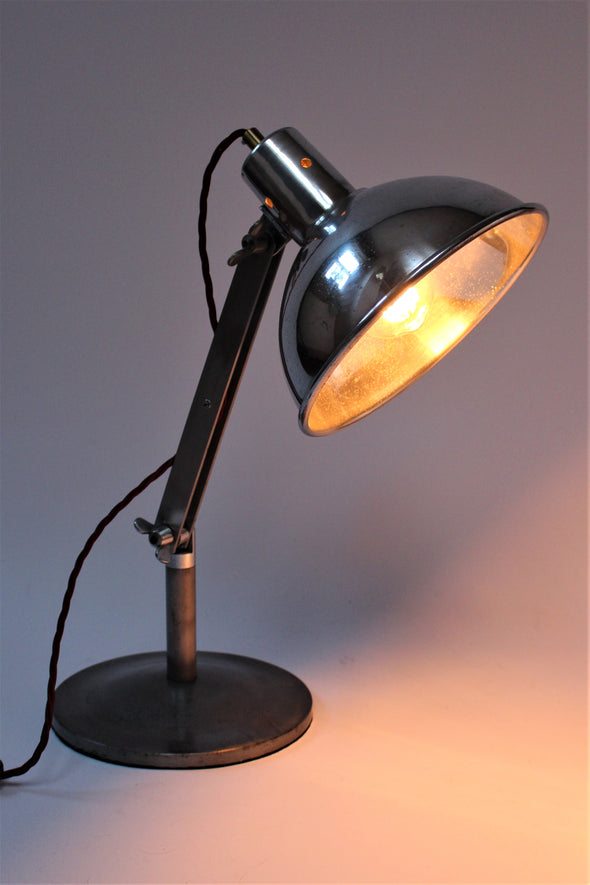 1950s Vintage Sol-tan Medical Lamp converted to Desk Lamp