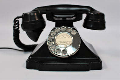 Beautiful Vintage King Pyramid 232 Bakelite Telephone 1930s