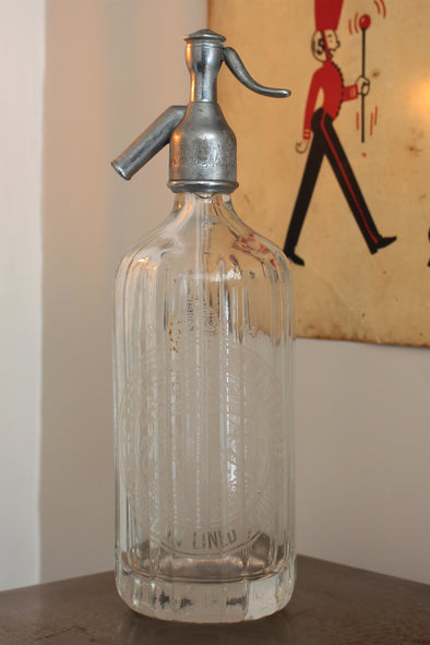 Antique early 1900s Cantrell & Cochraine Soda Syphon Seltzer Bottle