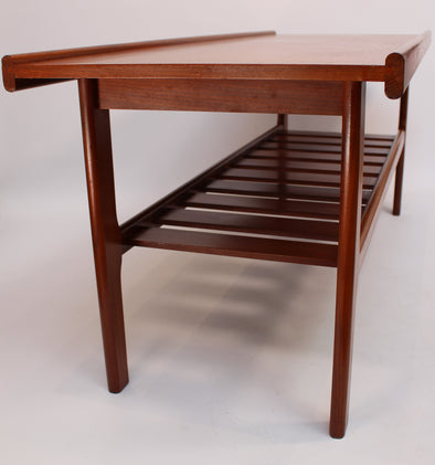 Vintage 1960s Teak G Plan Coffee Table with Magazine Shelf Danish Style