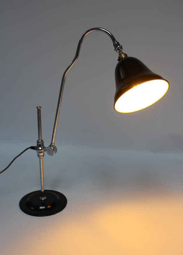 Beautiful 1930s Supreme Adapt-o-lite Desk Table Lamp