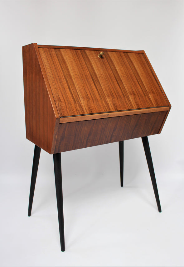 Vintage Little Wood Bureau Desk - Mid Century Modern