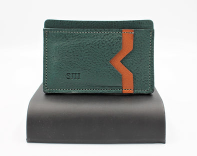 Minimalist Card Holder Italian Leather - FREE personalisation