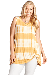 plus size aa. Tegan Sleeveless Top